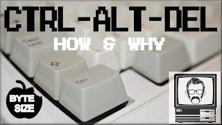 Why CTRL ALT DEL? [Byte Size]   Nostalgia Nerd