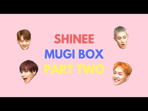 [ENG SUB] SHINEE MUGI BOX | PT. TWO - 180528