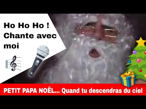 Le Père Noël chante Petit Papa Noël