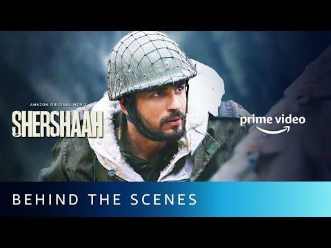 Behind-the-scenes: Shershaah - Sidharth Malhotra, Kiara Advani