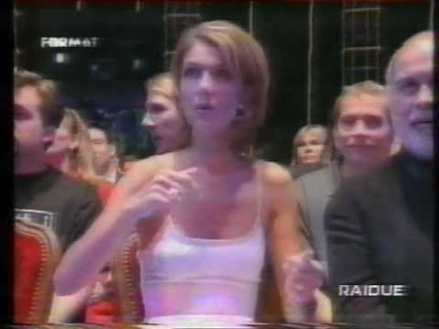 Celine Dion watching Tina Arena Singing Chains