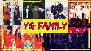 """YG FAMILY"" (ALL ARTIST UNDER YG ENTERTAINMENT)"