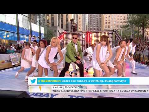 120914 - Psy (싸이) - Gangnam Style (강남스타일) @ Today Show [HD] [3D available]