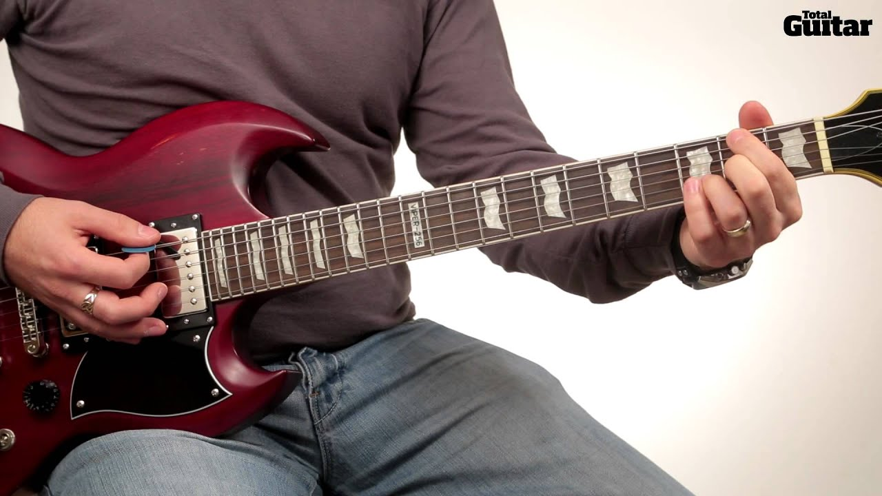 guitar lesson learn how to play ac dc highway to hell intro tg249 youtube. Black Bedroom Furniture Sets. Home Design Ideas
