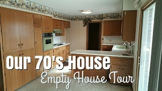 Our 70's House | EMPTY HOUSE TOUR 2018