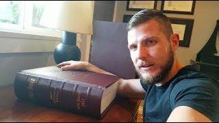 1st Edition King James Bible Facsimile Review