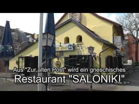 """Heute Neueröffnung griechisches Restaurant """"SALONIKI"""""""