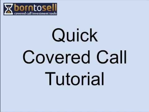 Covered Calls Tutorial