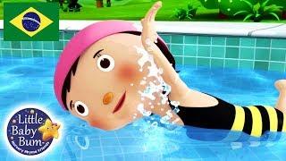 Canções para Bebe | Vamos Nadar | Desenho para Bebe | Little Baby Bum em Português