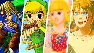 Evolution of The Legend of Zelda Theme Song (1986 - 2019)