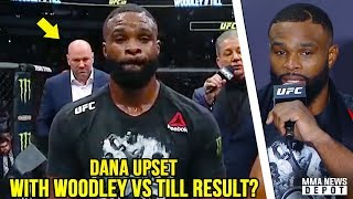 UFC Pros react to Woodley vs Till; Dana leaves early, won't speak to media; UFC 228 Highlights;Colby