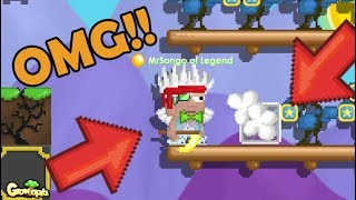 Using Golden Hand Scythes!!! OMG!! | GrowTopia