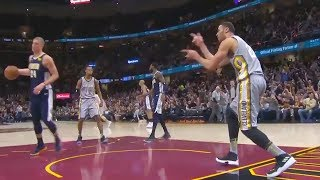 Larry Nance Jr Taunts Mason Plumlee After Dunking On Him Like Shawn Kemp! Cavaliers vs Nuggets