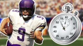 CAN ONE PLAY LAST AN ENTIRE QUARTER? (Madden 16 NFL Challenge)