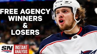 Winners and Losers From Day One of NHL Free Agency | PLUS Way-Too-Early Stanley Cup Picks