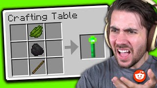 Testing Viral Reddit Minecraft Hacks to see if they work
