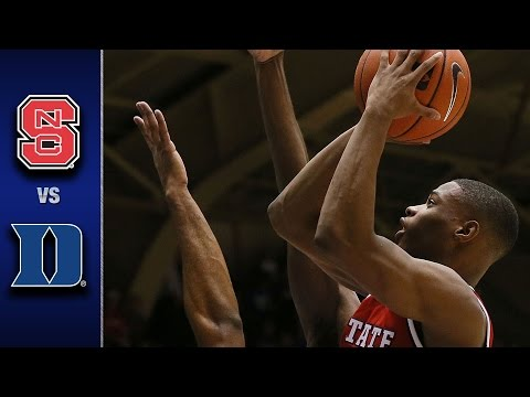NC State vs Duke Men's Basketball Highlights 2017