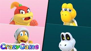 Super Mario Partner Party - Domino Ruins Treasure Hunt (20 Turns) Gameplay