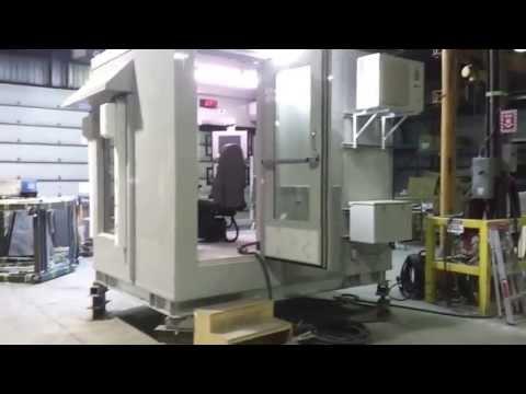 Mecart control cabin for wheel loader