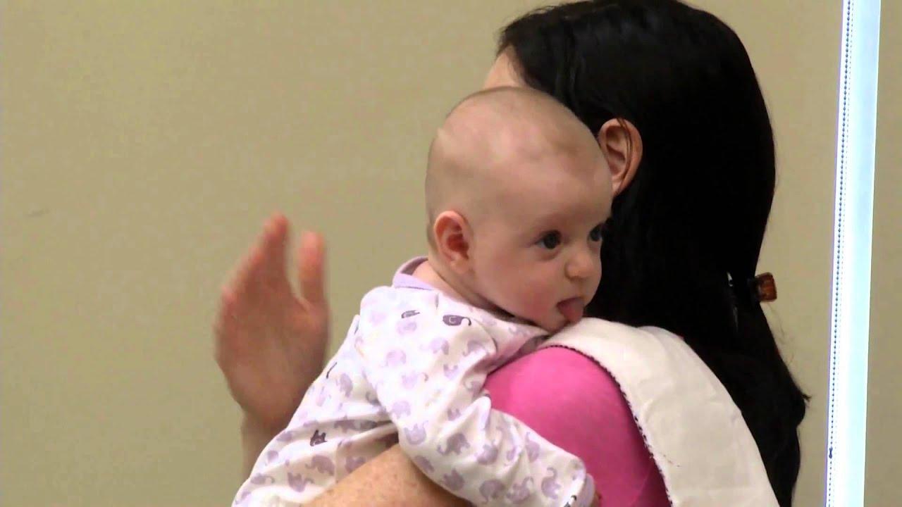 Newborn Burping Techniques Youtube