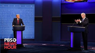 WATCH: The second and final 2020 presidential debate