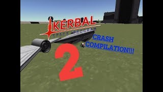 KSP: Random Plane Crash Compilation 2