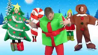Christmas Finger Family Song  Holidays Finger Family Nursery Rhyme for kids