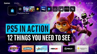 PS5 IN ACTION | 12 Things You Need To SEE (PlayStation 5 User Experience)
