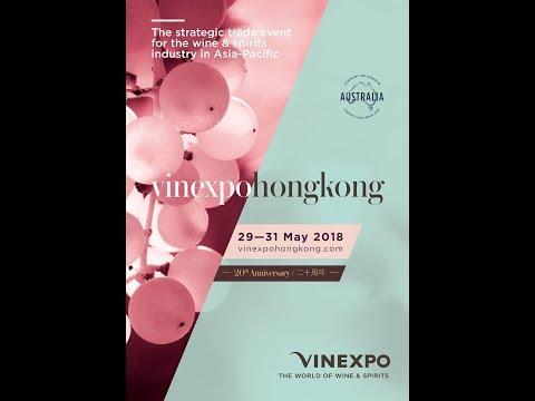 Vinexpo Asia 2018: Australia, Country of Honour with Stuart Barclay