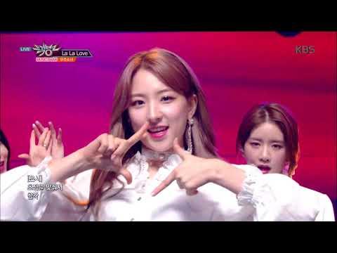 뮤직뱅크 Music Bank - 라라러브(La La Love) - 우주소녀(WJSN).20190208