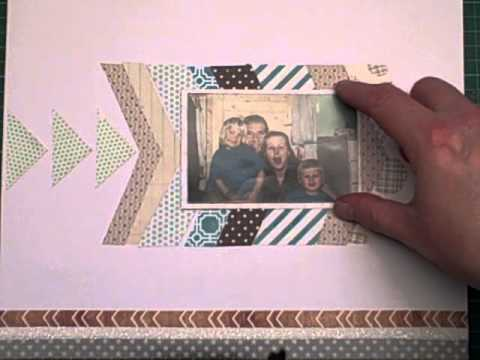 Template Tutorial for a Scrapbook Page