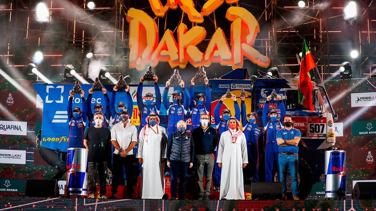 «КАМАЗ» победил в ралли «Дакар-2021»