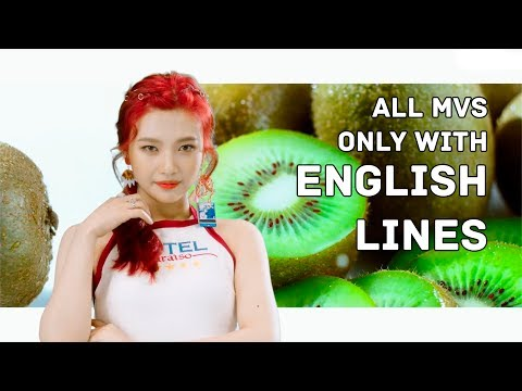 All RED VELVET MVs but only with ENGLISH LINES