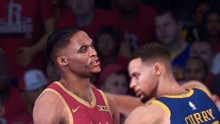 Golden State Warriors vs. Houston Rockets - Game 7 - 2020 NBA Conf. Finals! - Full Gameplay