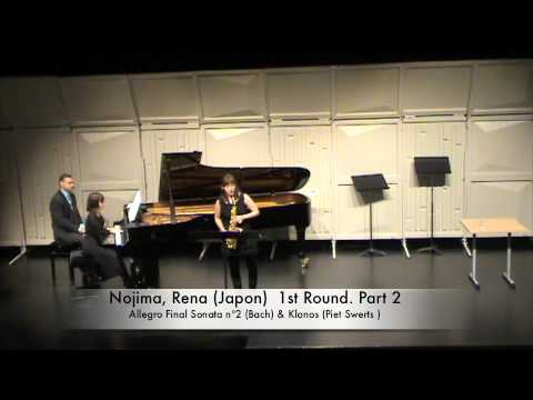 Nojima, Rena Japon 1st Round Part 2