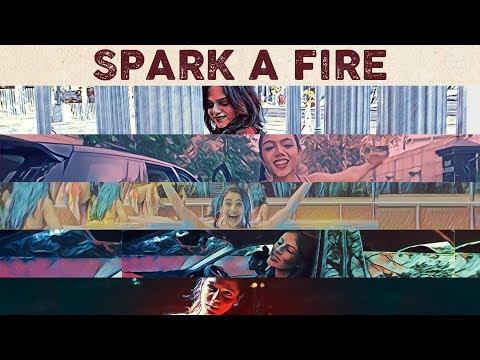 SPARK A FIRE LYRICS - Shalmali Kholgade Ft. Riya, Simran, Pratiksha, Neha