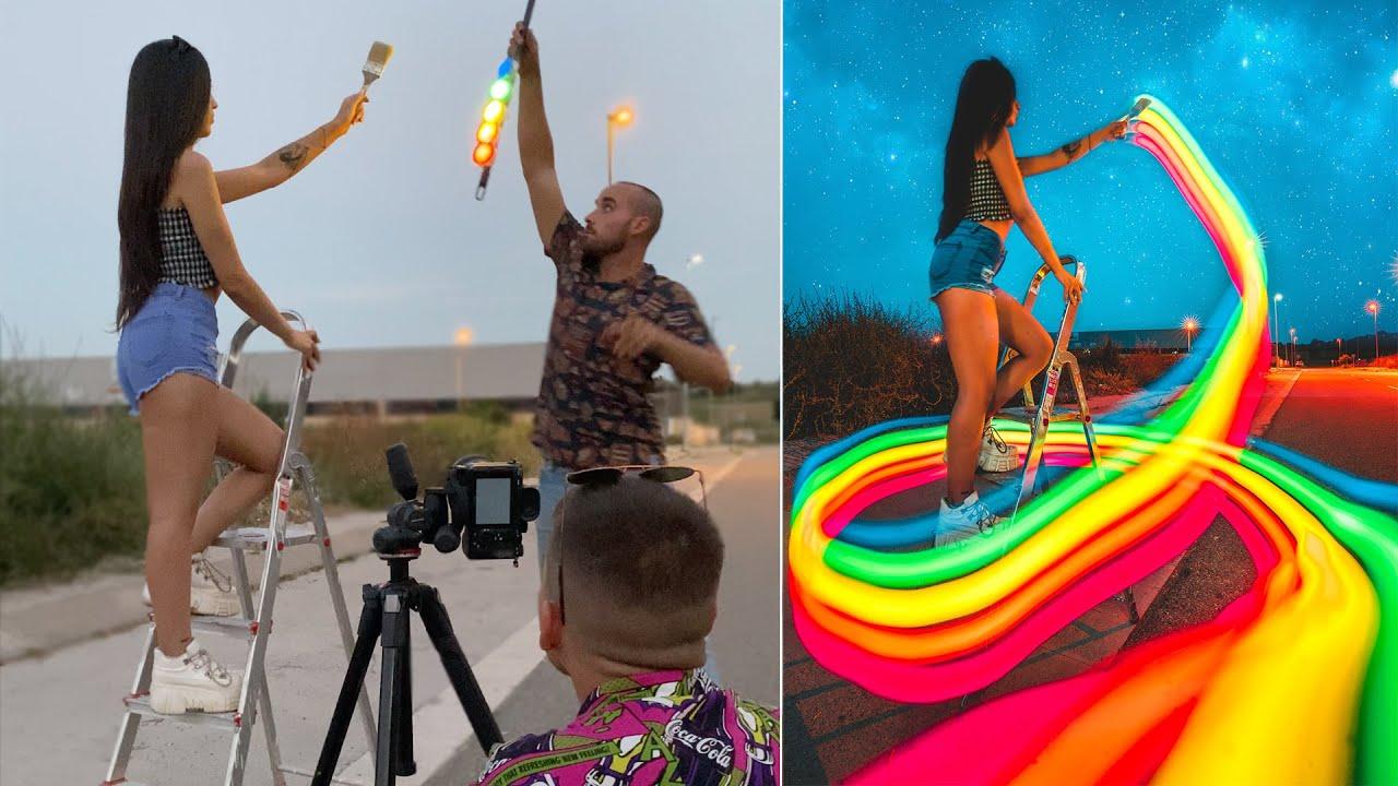 10 Light Painting Photography Ideas Tutorial Z Wmarmenia Com