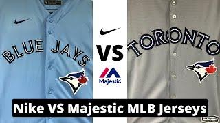 Nike vs Majestic MLB Jerseys Review