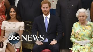 Queen Elizabeth announces agreement with Meghan and Harry | ABC News