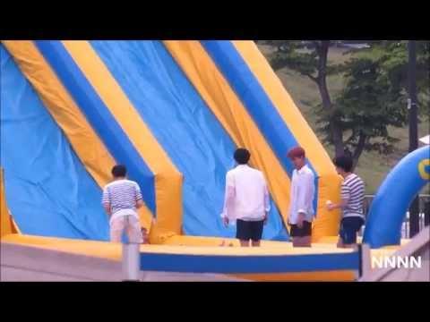 150617 EXO JUMP SLIDE JUMP Baskin Robbins