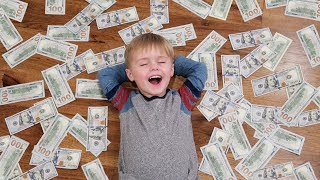 TODDLER WINS THE LOTTERY!! 💸