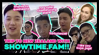 Going to New Zealand with Showtime Family