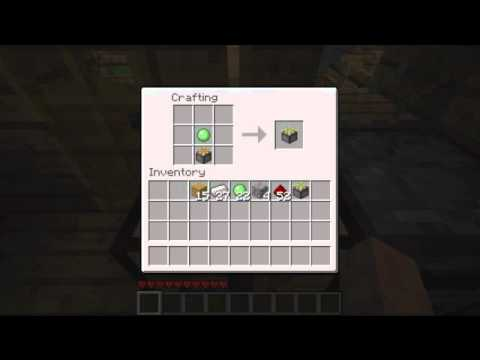 How To Craft A Sticky Piston In Minecraft