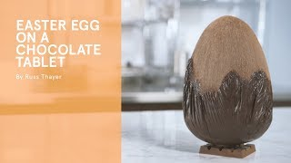 FREE chocolate course from the Chocolate Academy™ Online: How to make an Easter egg on a tablet!