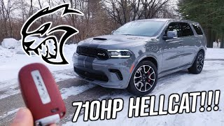 2021 Dodge Durango SRT Hellcat Review! | MOST POWERFUL SUV EVER