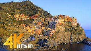 Fabulous Italy: Cinque Terre in 4K | Town Life Documentary Film. Part 4