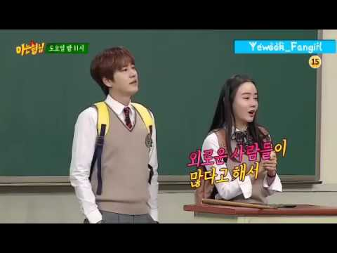 Knowing Brothers - Kyuhyun and Heechul cuts