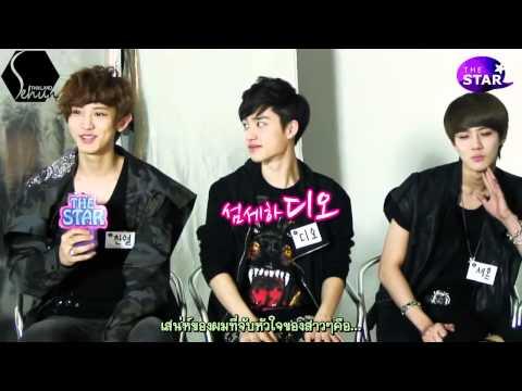 [ThaiSub] 120510 The Star EXO K interview [Sehun-Thailand]