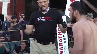 Amazing street fight knockout