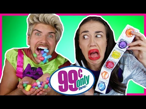 99 CENT STORE CHALLENGE WITH MIRANDASINGS!